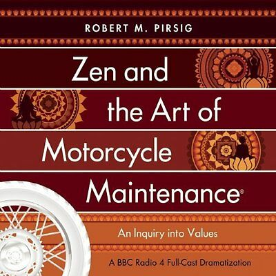 Zen and the Art of Motorcycle Maintenance Book by Flannery Peter CD-Audio