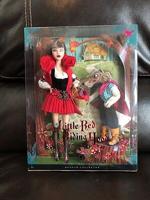 Barbie Little Red Riding Hood & Wolf silver label collector doll
