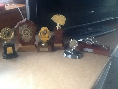 Playing card trophys