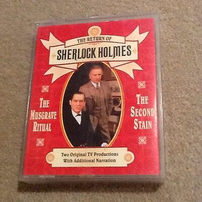 The Return of Sherlock Holmes The Musgrave Ritual + audio book on cassette
