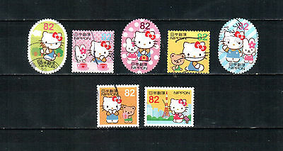 A36, Japan 2015, complete set, used stamps
