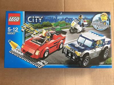 Lego 60007 City High Speed Police Chase - Brand New & Sealed