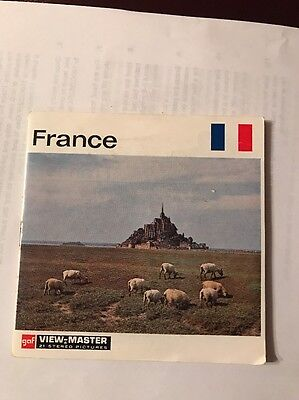 Viewmaster Reel Of France- C230.