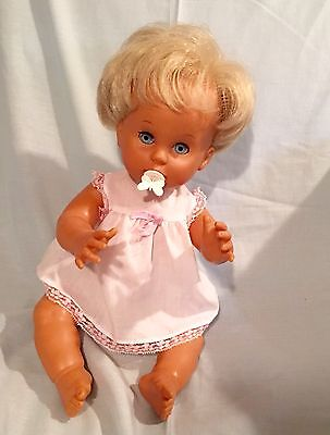 Vintage 1980s Baby First Love Doll With Original Outfit & Dummy & extra clothes