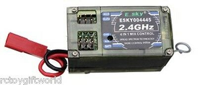 6 CHANNEL 2.4GHz Receiver 4-in-1 For Esky CP3