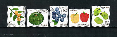 A14, Japan 2016,  complete set, used stamps