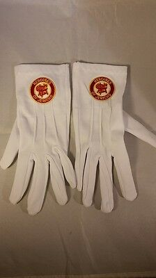 Heroines of Jericho White Gloves with Symbol-New!
