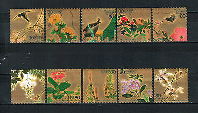 A4, Japan 2003,  complete set, used stamps