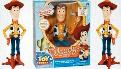New Toy Story 3 Talking Sheriff Woody Round Up Collection Doll