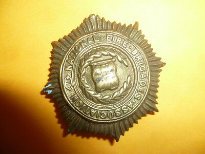 National Fire Brigades Association Badge