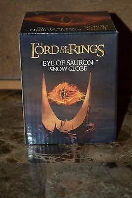 Nerd Block Exclusive Lord of the Rings Eye of Sauron Snow Globe - NEW