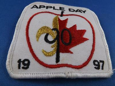 Boy Scouts Canada Apple Day 1997 Sailboat Vintage Patch Badge