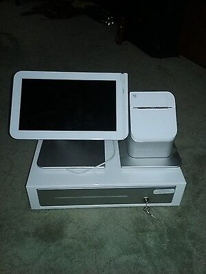 Clover point of sale system complete. POS Bundle. Cash Register. Touch Screen