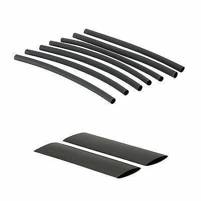 Black Heat Shrink Tube Sleeving Car Wire Wrap Heatshrink Various Sizes & Lengths