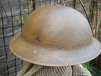 British Military steel helmet and liner WWII