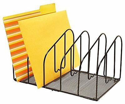 desk file folder holder letter sorter rack organizer document storage office