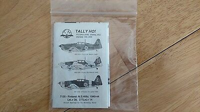 1/72 Tally Ho! Decals for Finland M.S.406c 1940-44