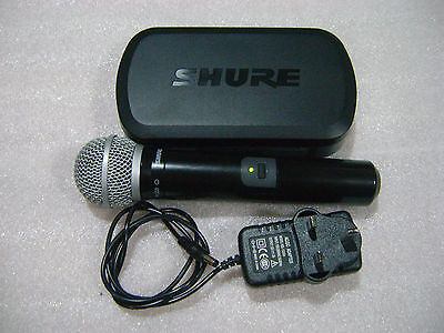 Shure PG58/PG4 Wireless Microphone, Receiver & Adapter