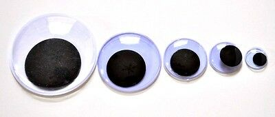 New All  Size Googly Eyes Craft Wobbly Wiggly  Stickers Embellishments Sick On