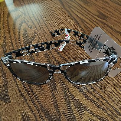 Disney Mickey Icon Clear & Black Adult / Teen Sunglass New With Tags
