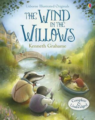 NEW Illustrated Wind in the Willows By Kenneth Grahame Hardcover Free Shipping