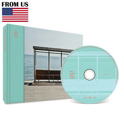 BTS BANGTAN BOYS WING YOU NEVER WALK ALONE Album LEFT Ver CD+Photobook+Photocard