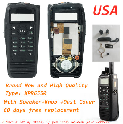 new Repair front Housing keyboard cover For Motorola XPR6550 walkie talkie