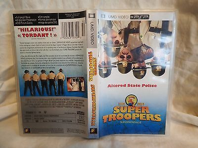 Super Troopers (UMD, 2005) Used, fast shipping, play on your PSP
