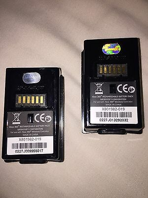 Microsoft Rechargeable Batteries  X 2 For Xbox 360 Controller