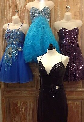 Sheri Hill Size 10 Prom Party Cruise Cocktail Wholesale Lot Short Formal Dresses