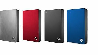 SEAGATE Backup Plus 2TB 4TB External Hard Drive USB 3.0 HDD 200GB Cloud PC MAC