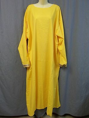Medieval Dress Costume SCA Renaissance Yellow
