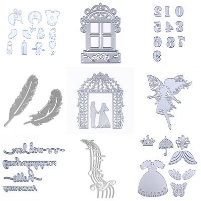 Metal Cutting Dies Stencil DIY Scrapbooking Album Paper Card Embossing Craft Lot