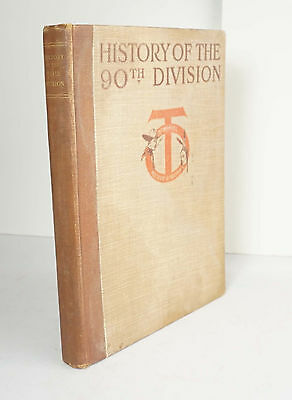 History of the 90th Division 1920 Wythe Military WWI World War One Great War