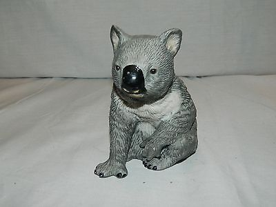 Charming Royal Heritage China Porcelain Grey & White Koala Bear Figurine