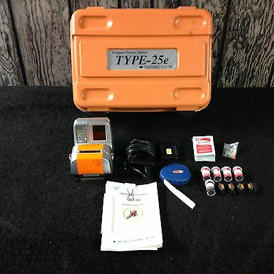 SUMITOMO ELECTRIC Compact Fusion Splicer Type 25-E