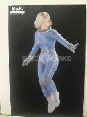 "Ma.k 1/20 Mercenary Force Female Space Pilot ""Float"" Resin model Kit SF3D Cast"