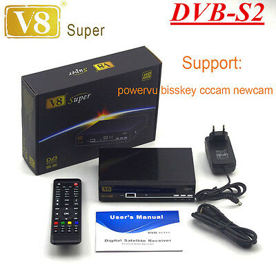 DVB-S2 HD Freesat V8 super Digital Satellite TV Receivers Support 3G Wifi ipt1