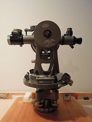 BRUNSON 79-1 TRIANGULATION JIG TRANSIT SQUARE/THEODOLITE with OPTICAL MICROMETER