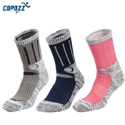 Copozz Winter Socks Skiing Snowboard Snow Mountain Hiking Soft Warm Breathable