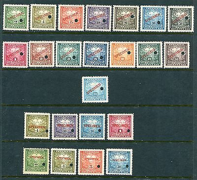 Full Set of 23 Different MNH Philippines Documentary SPECIMENS (Lot #PH1)