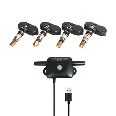 TPMS Tire Pressure Monitoring System Internal Sensor For Android GPS Car DVD