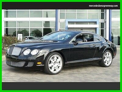 2009 Bentley Continental GT GT Coupe 2-Door 2009 Used Turbo 6L W12 60V Automatic All Wheel Drive Premium