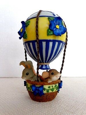 """Fitz & Floyd Charming Tails """"Colorful Balloon Ride""""  Item : 98/330"""