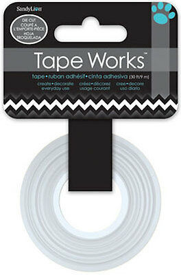 TAPE WORKS ADHESIVE WASHI TAPE 9M ROLL 1.5cm WIDE  9M ~SC6500 RICK RACK