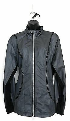 DAILY SPORTS Women's Golf Morgan Wind/Water Repellent Jacket (Silver) - X-Large