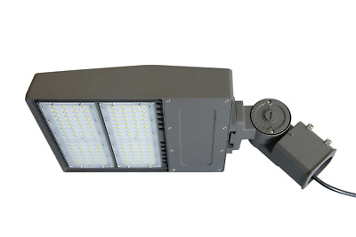 LED ShoeBox 200W Light Parking Lot Fixture Philips replaces 400W-750W MH/HPS