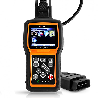 Car Diagnostic Code Reader Scanner Foxwell NT630 Pro ABS+Airbag(SRS)+Engine Auto