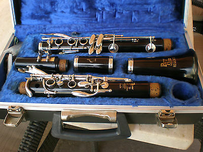 Boosey & Hawkes Clarinets made in England Regent original case Excellent !!!!!