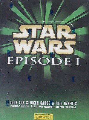 1999 Topps Star Wars Episode 1 Widevision Factory Sealed Box